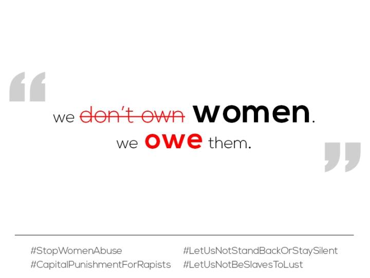 we owe women