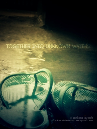 Together into unknown waters